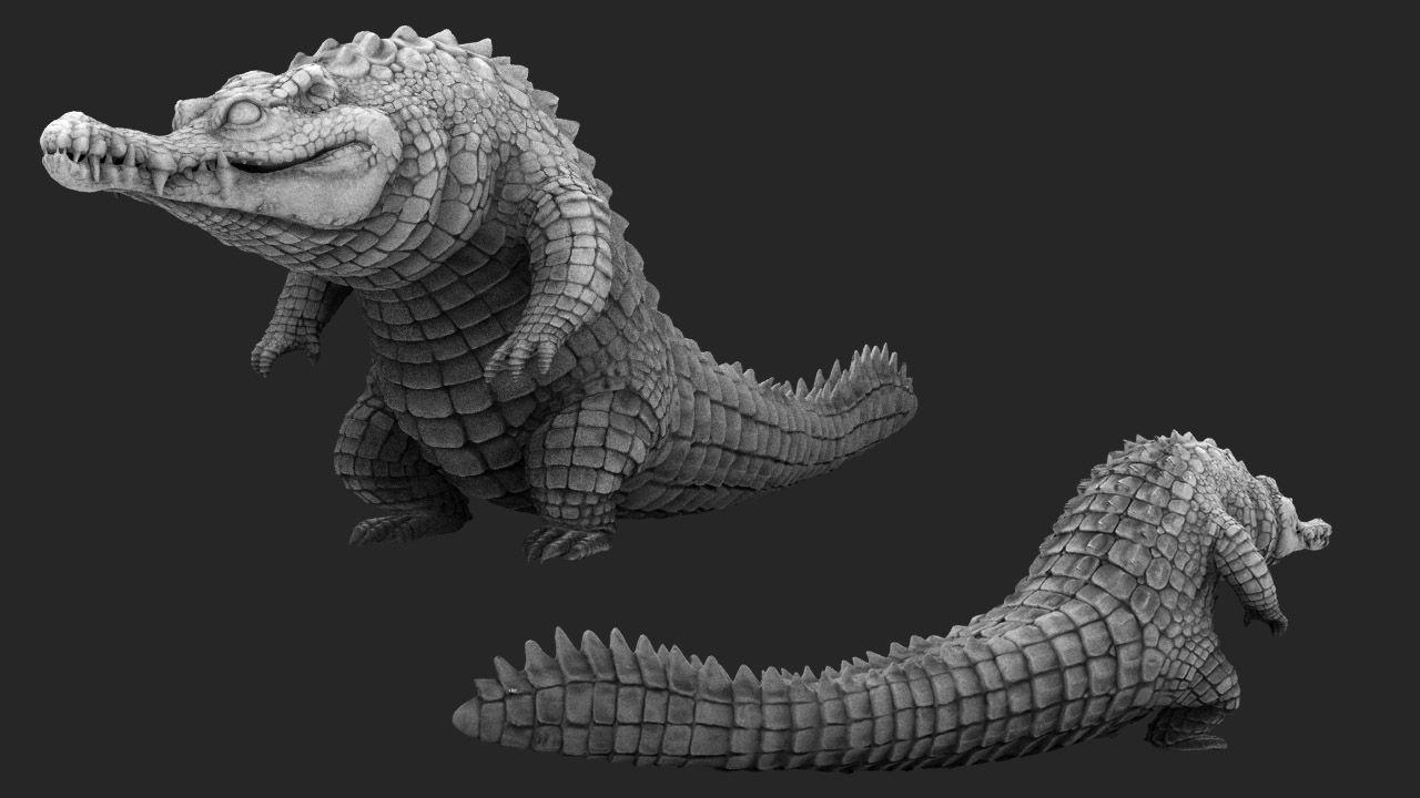 Crocodile Concept Art