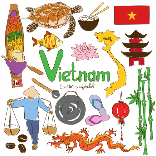 Favori Vietnam Culture Map | Geography, Vietnam and Child GI62