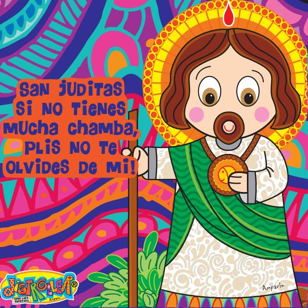 Imagen con Frase San Judas