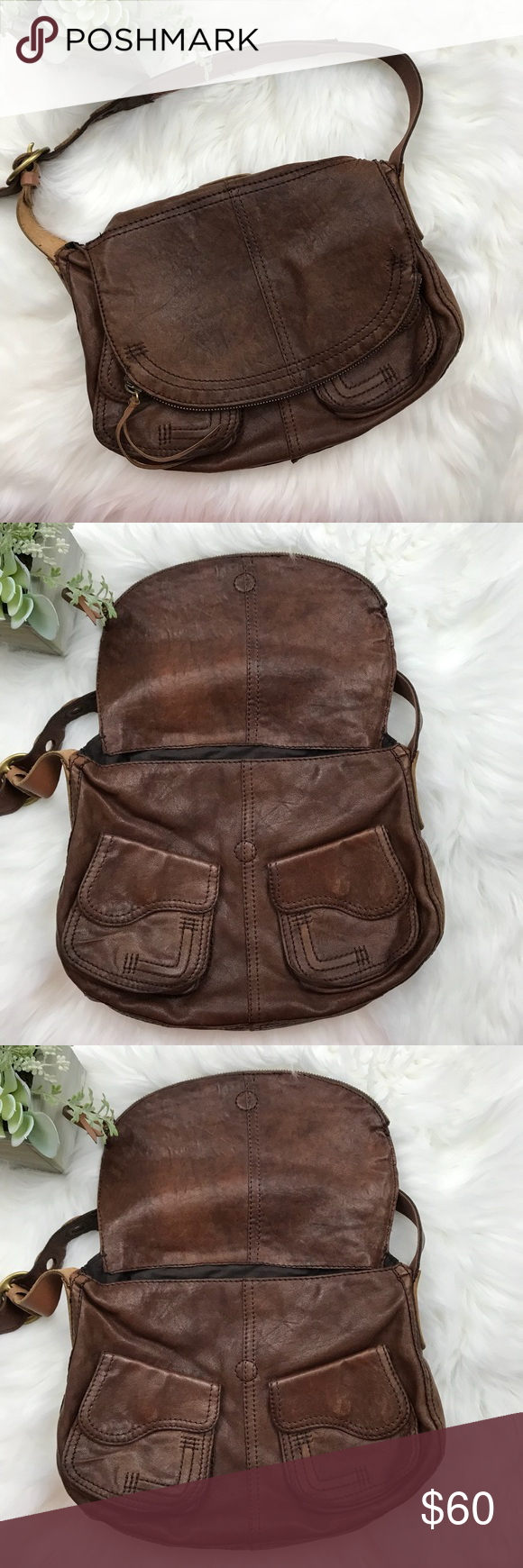 ... LUCKY BRAND Fold Over STASH Flap Hobo Bag LUCKY BRAND Fold Over STASH  Flap Hobo Bag ... 7df9f69f46