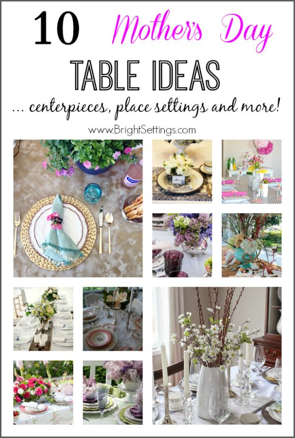 10 Mother S Day Table Ideas Birthday Party Centerpieces Banquet