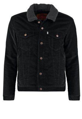 Homme Levi s® GOOD SHERPA TRUCKER - Veste mi-saison - black blackdenim  SFr c256730fdbd7