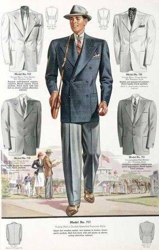 1930s Men S Fashion Guide What Did Men Wear Vintage Mens Fashion Mens Style Guide Mens Fashion