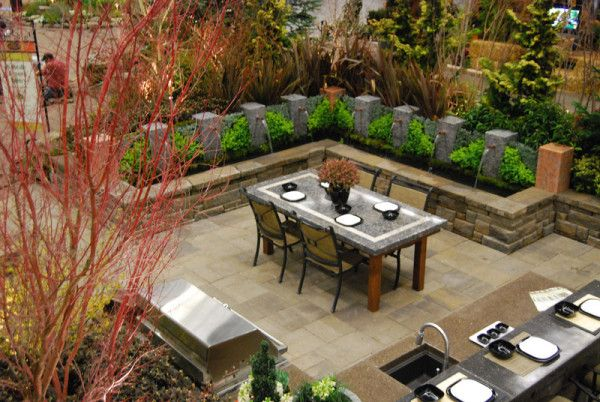 Dining Area In All Oregon Landscapingu0027s 2011 Display At The Yard, Garden, Patio  Show