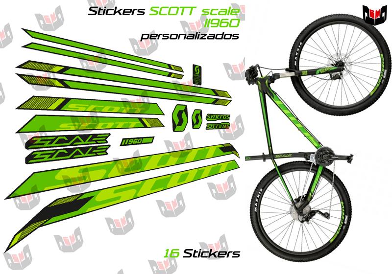 Stickers Scott Scale Ii960 Disenos De Unas Vinilos Laminas