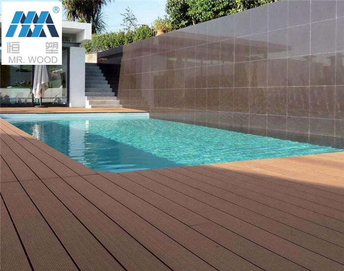 Wpc Outdoor Wood Flooring Laminate Flooring For Swimming Pool Tile Garden Balcony Wood Plastic Email Wpc2 Woodhengsu Com Phone 86 135 2799 Menos Es Más