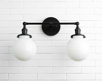 Wall Lighting Vanity Light Bathroom Light Wall Lamp Etsy In 2020 Globe Light Fixture Wall Mounted Light Wall Lights
