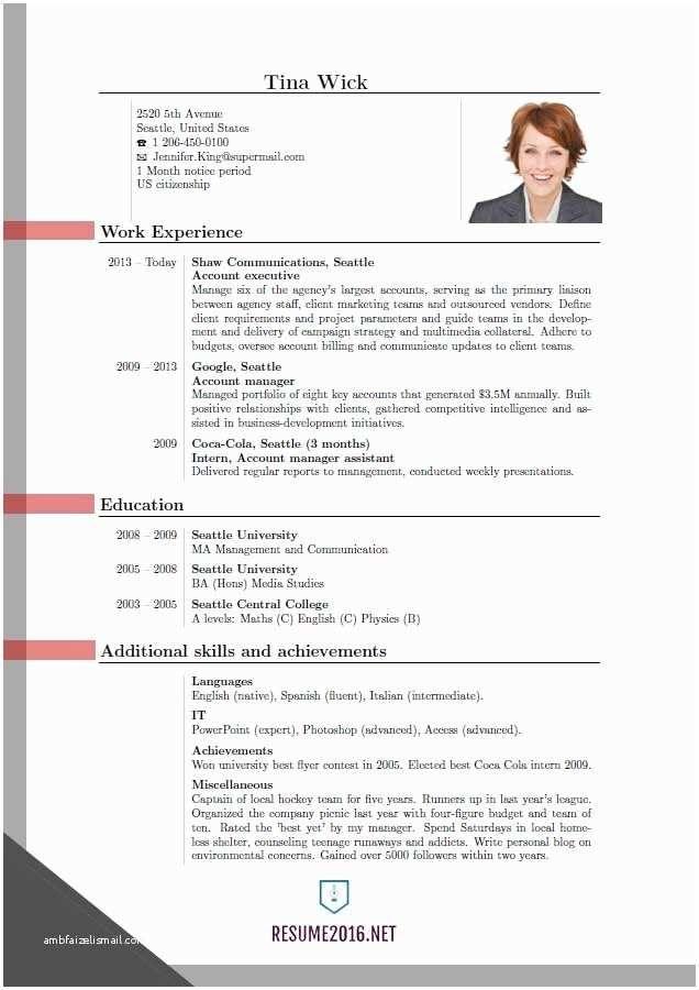 newest resume format - Pelit.yasamayolver.com