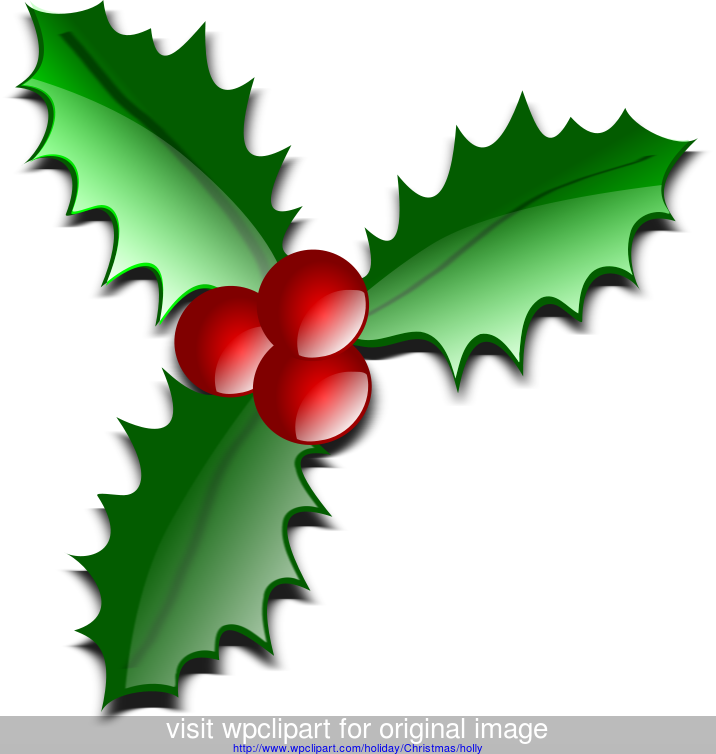 Holiday Clip Art Holiday Christmas Holly Holly Glossy A Public Domain Png Image Christmas Images Clip Art Christmas Clipart Free Happy Birthday Clip Art
