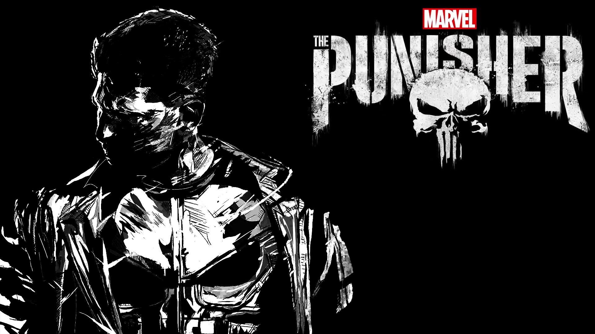 Marvel Police Punisher Military Wallpaper Www Topsimages Com