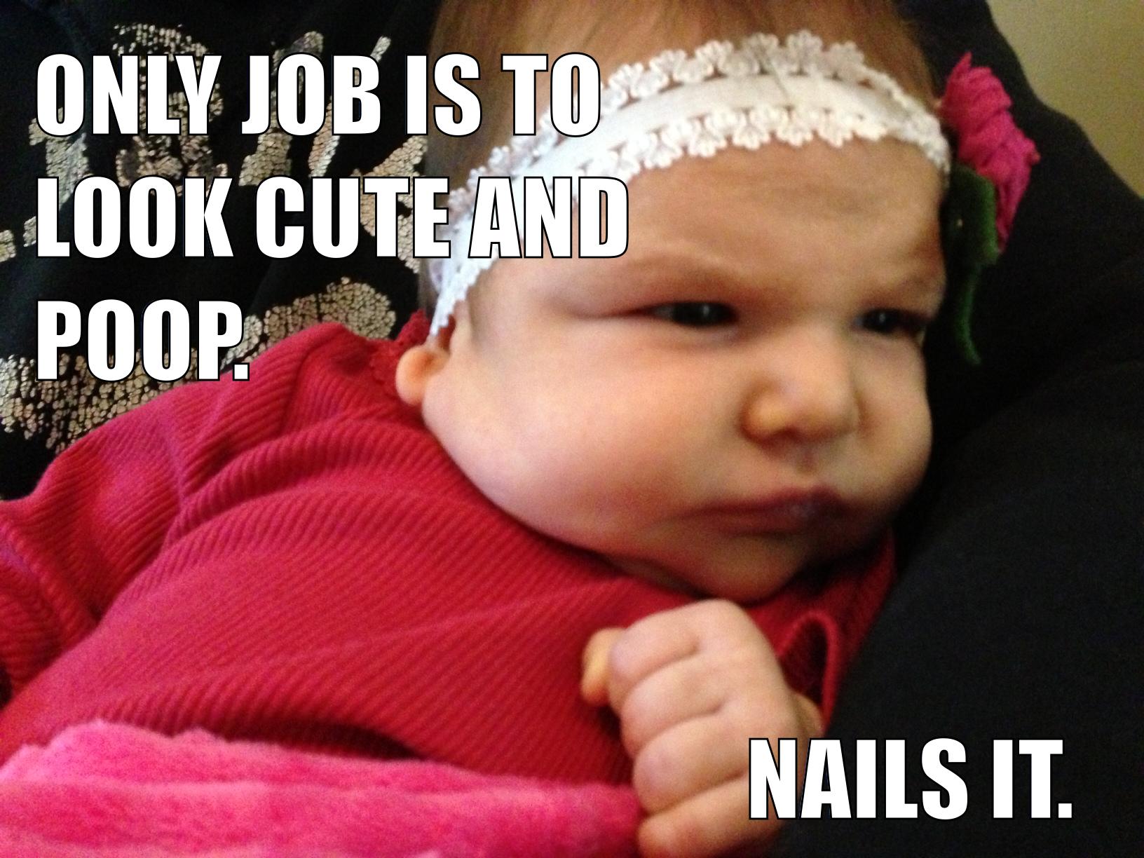 Cute Baby Meme