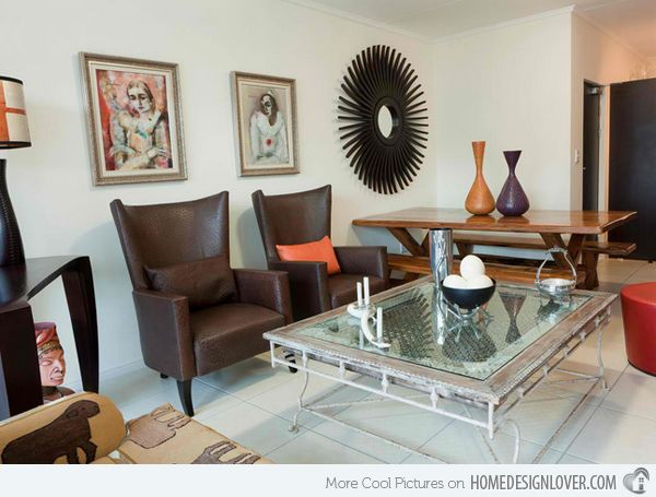 17 Awesome African Living Room Decor | African design ...