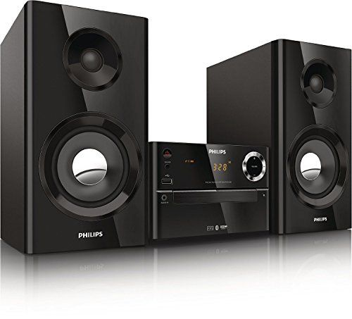 Philips BTM2180/37BLK Digital Micro Music System with Wi