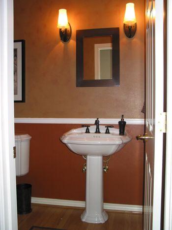 Half Bathroom Half Bathroom Small Half Bathrooms Brown Bathroom