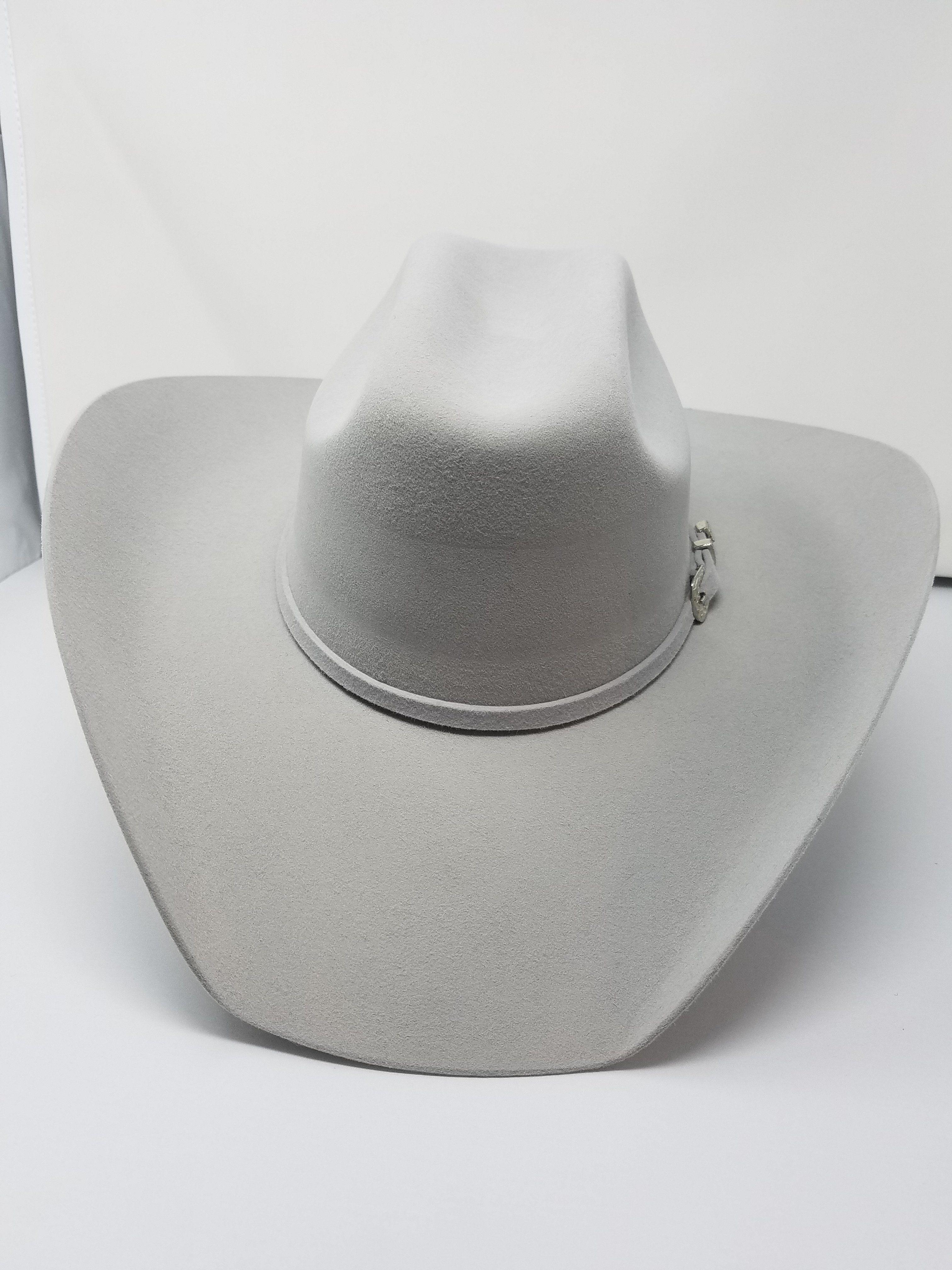 Bullhide Hats BOOT HILL 8X Fur Blend Felt Cowboy Hat Black