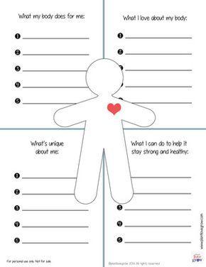 Mental Health Printable Worksheets - Coloring pages