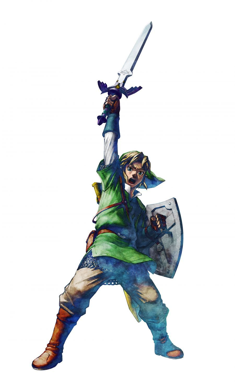 Link Skyward Sword Official Artwork