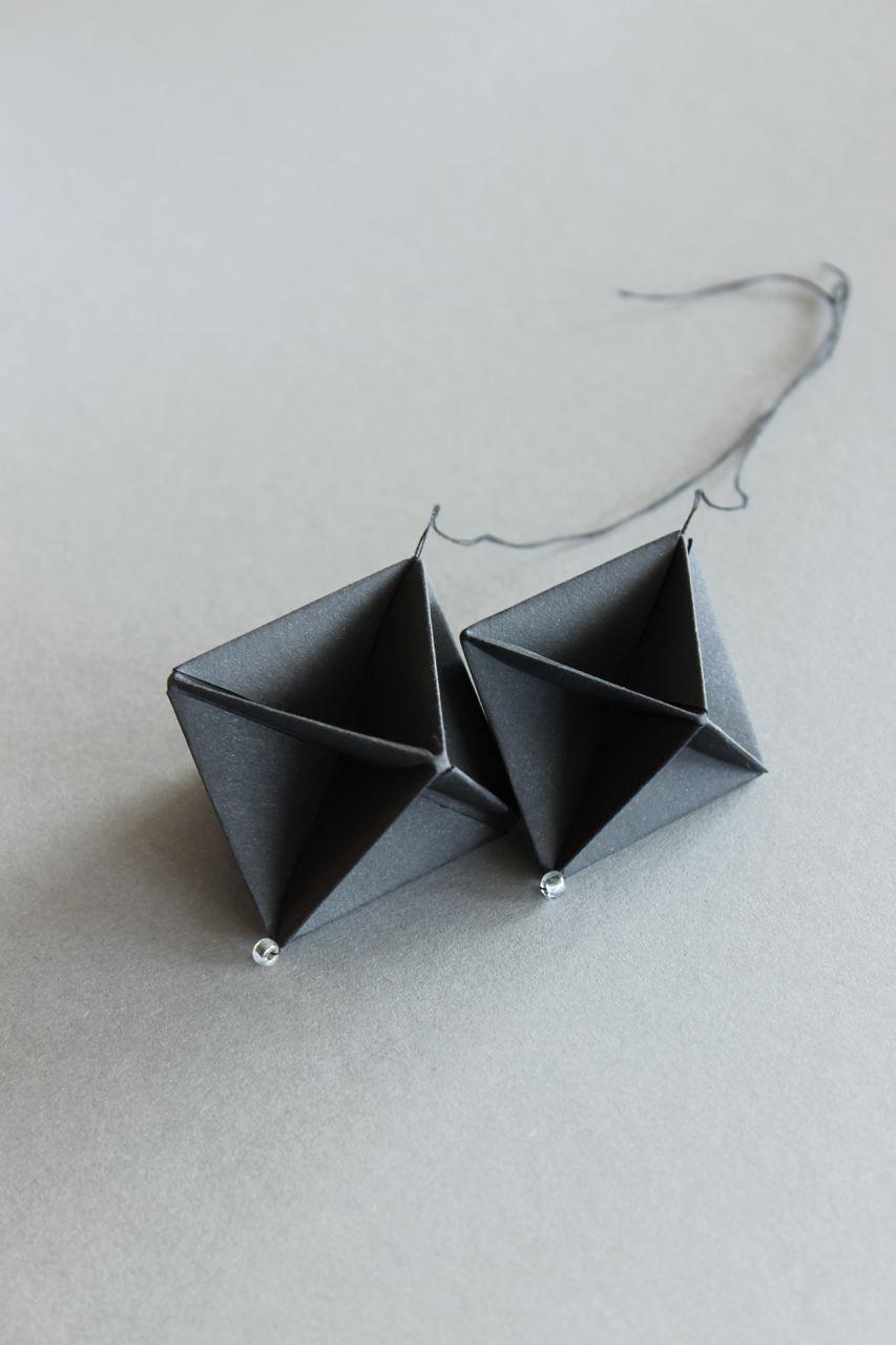 ludorn is under construction   Bijoux origamis, Boucles d'oreilles ...