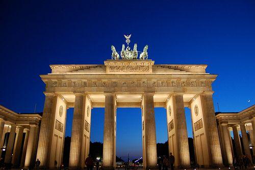 Brandenburger Tor Germany Vacation Berlin Digital Nomad