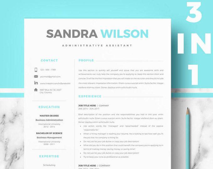 Professional Resume, CV template Modern Resume, CV design; Resume