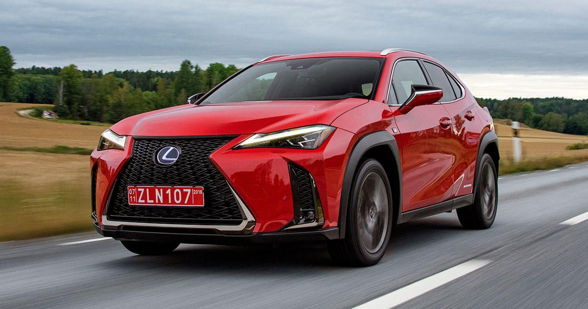 2019 Lexus Ux First Drive Review Just What New Premium Shoppers Want