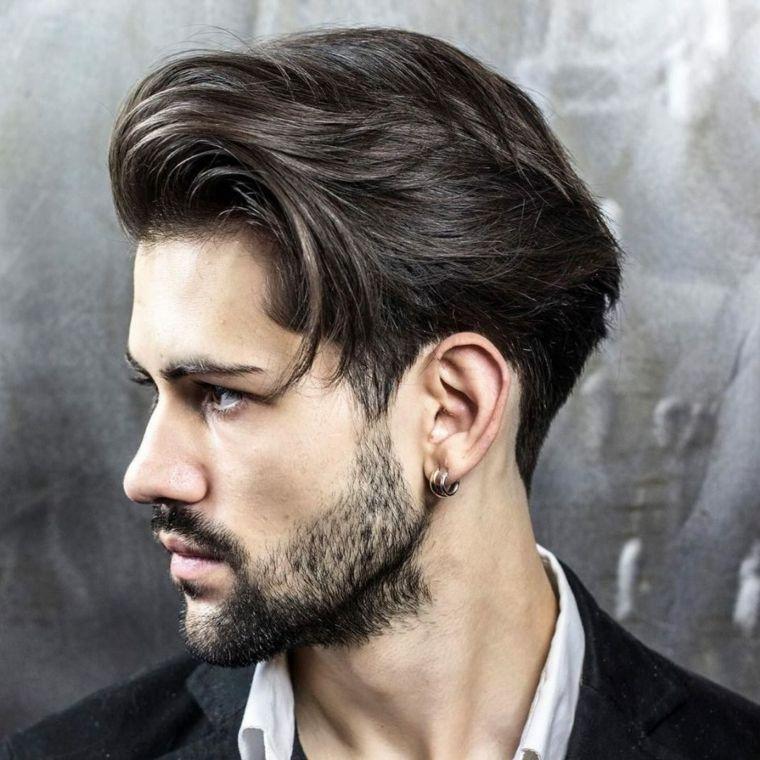 Progressive Graduation Man Trend Models Hairstyle Mens Hair