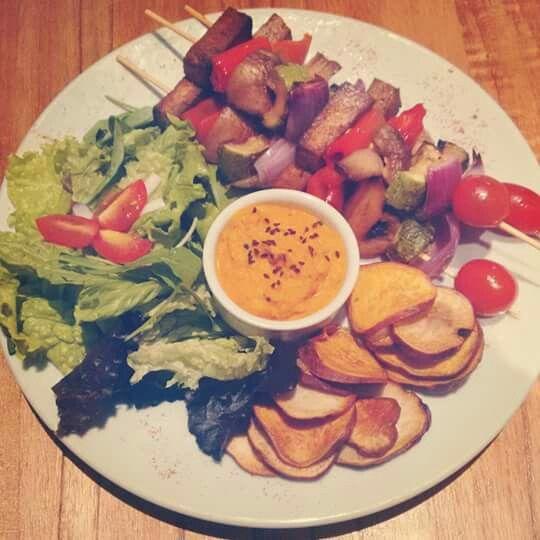Picada vegetariana