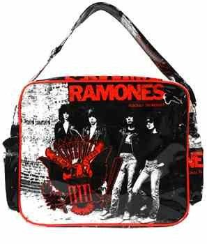 Ramones College bagDiaper bag Mom bag Rockabilly by Stilikonen