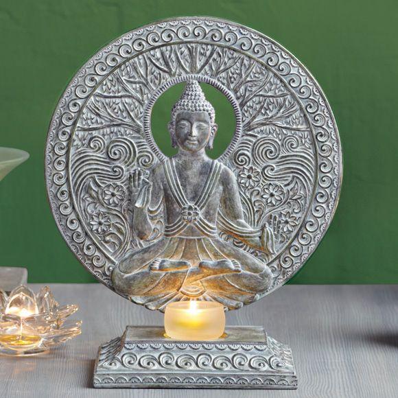 Seesteinen Buddha -somiste Tuikkivalle