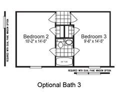 Jack And Jill Bathroom Configuration