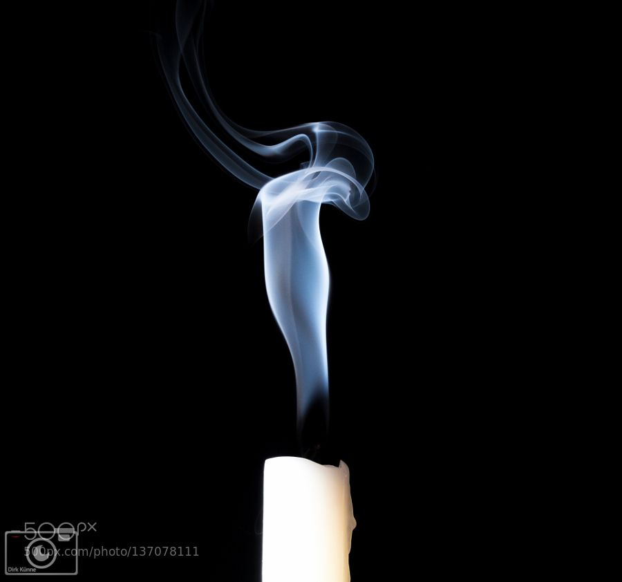 smoking candle by d280184