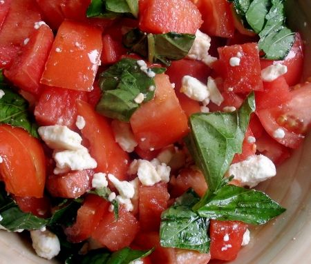 WATERMELON AND TOMATO SALAD - Bittman