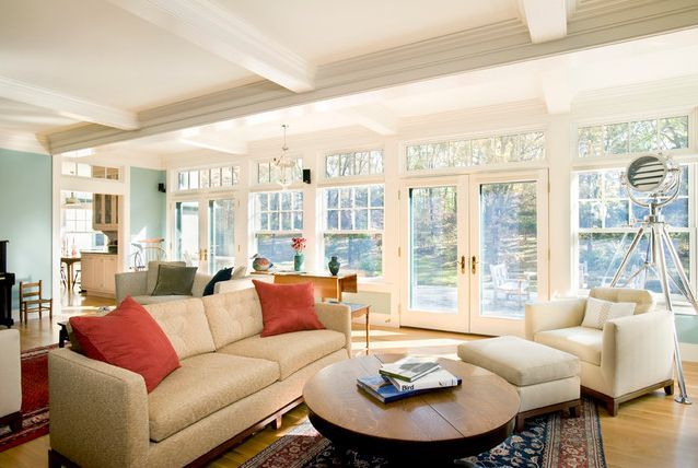 Large Family Room Windows | Cleaning 101: New Approach To Bathroom Cleaning