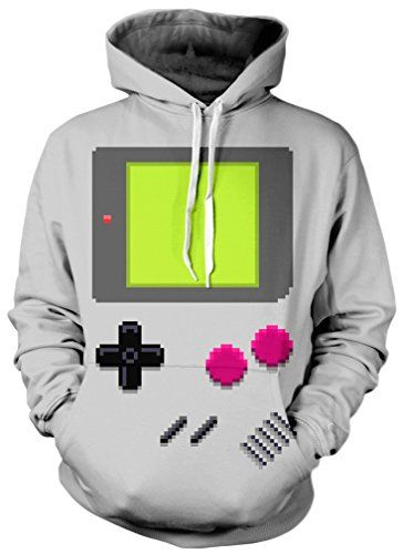 herren gameboy hoodie kost m idee ca 23 karneval. Black Bedroom Furniture Sets. Home Design Ideas