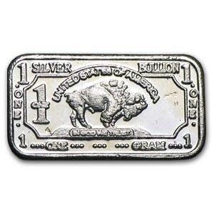 1 Gram Silver Bullion Bar .999 Fine Buffalo Bar CMC Min. Starting at $5 on Tophatter.com!