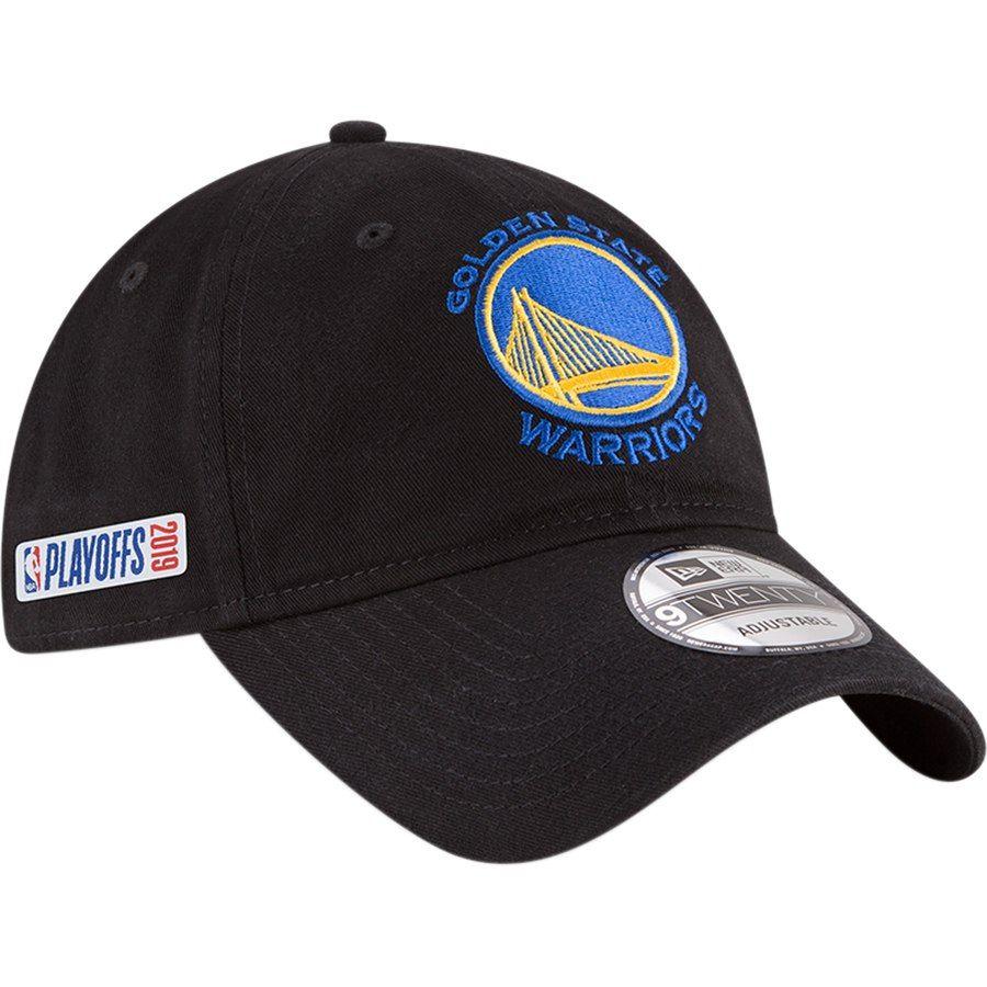 7f2899ac1004a9 Golden State Warriors New Era 2019 NBA Playoffs Bound 9TWENTY Adjustable Hat  – Black, Your Price: $24.99