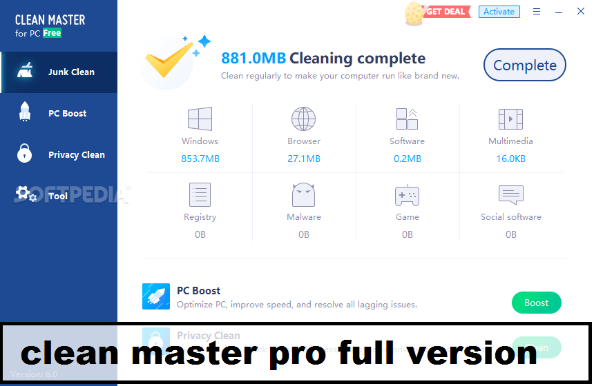 Clean Master Pro Full Version Free This is the most popular Android