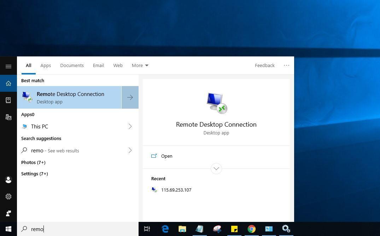 Remote desktop not working after windows 10 update? Try