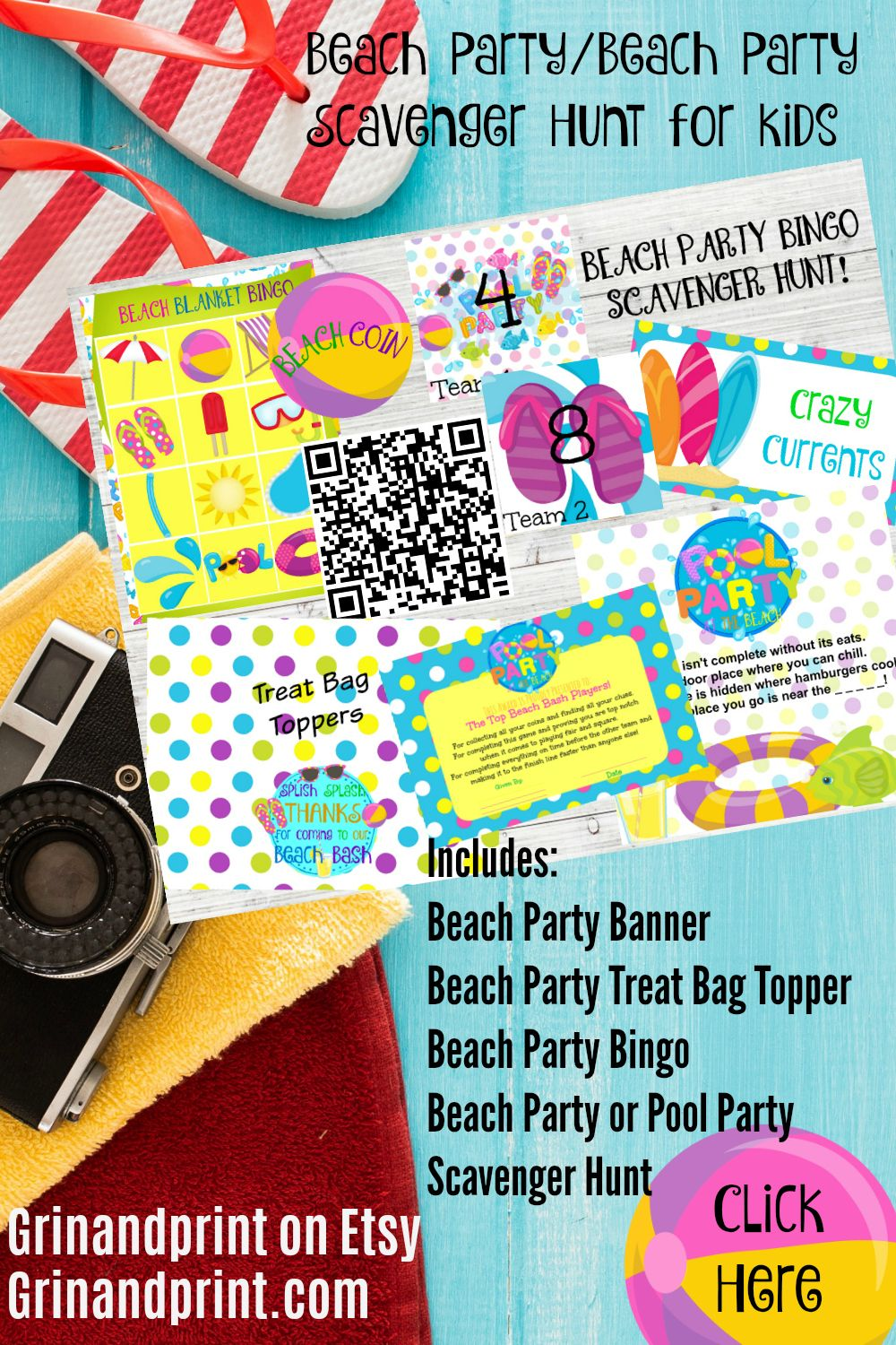 Backyard Beach Party Ideas With Images Beach Birthday Party