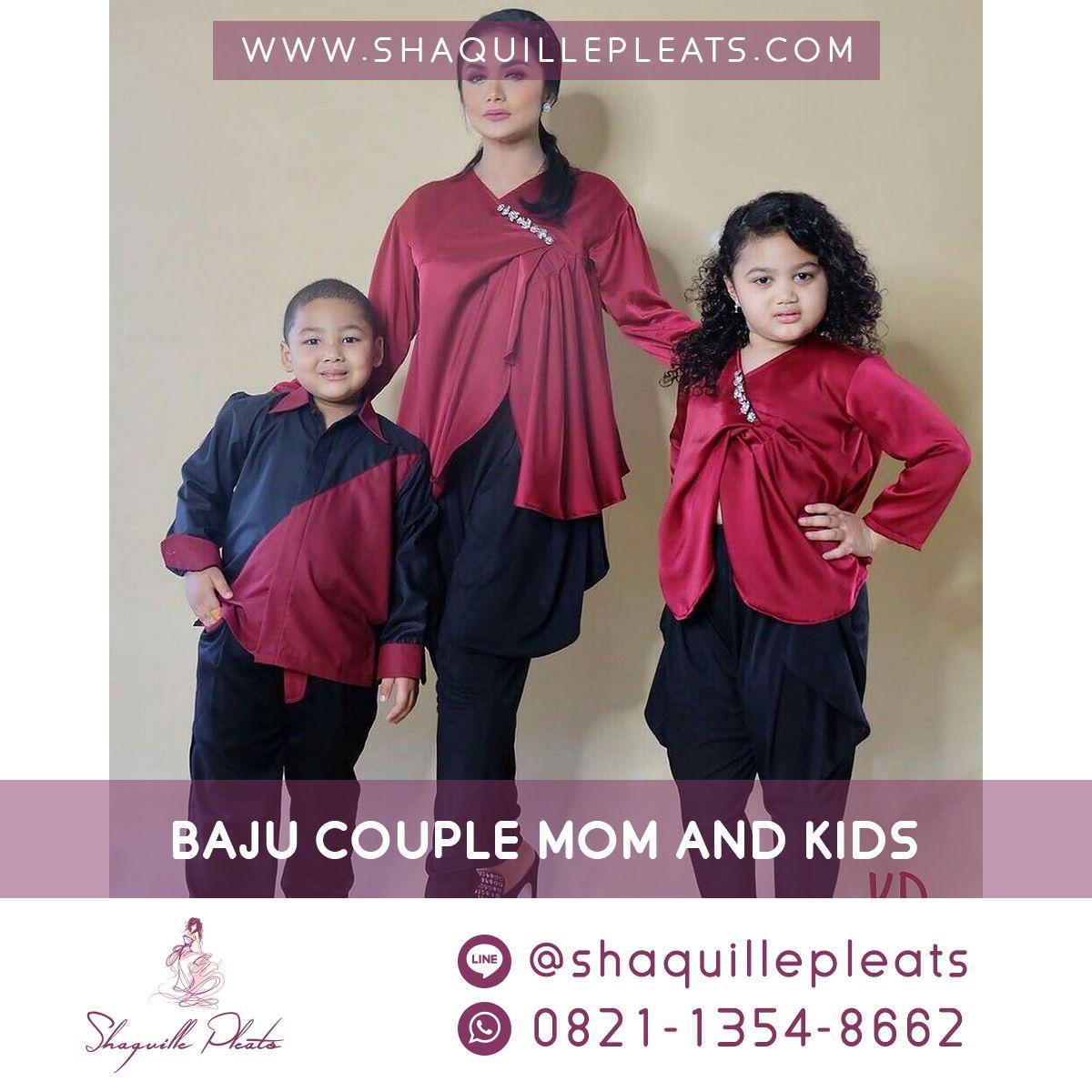 Pin Di Baju Couple Mom And Kids