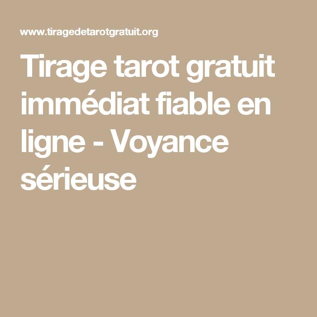 tarot gratuit fiable en ligne