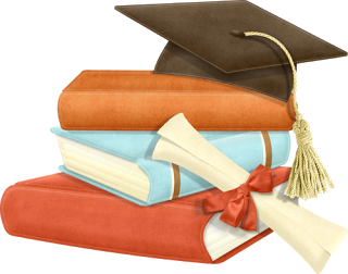 Gifs Y Fondos Pazenlatormenta Dibujo De Birrete Fondos De Graduacion Imagenes De Graduacion