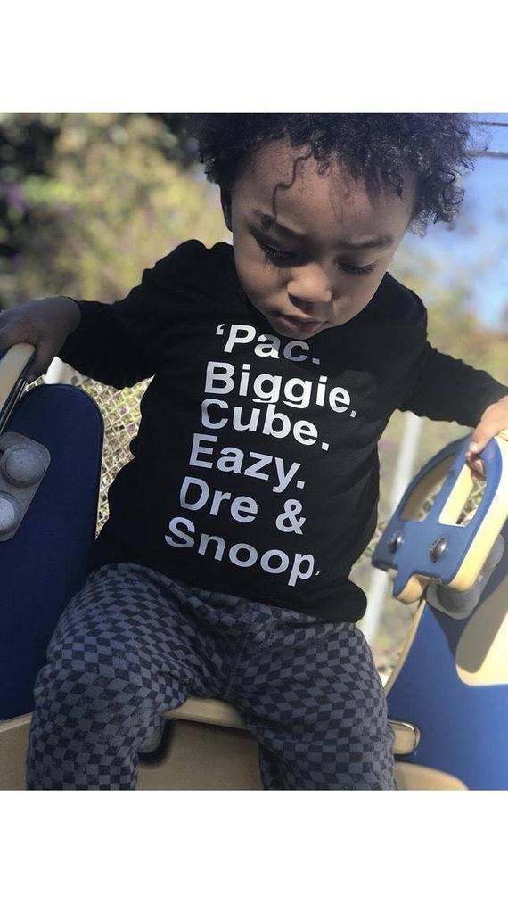 OG Rappers, Hip Hop Toddler, Hip Hop Tee, Baby Boy Shirt ...