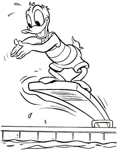 Dibujos para Colorear El Pato Donald 49 | cositas para bebés ...