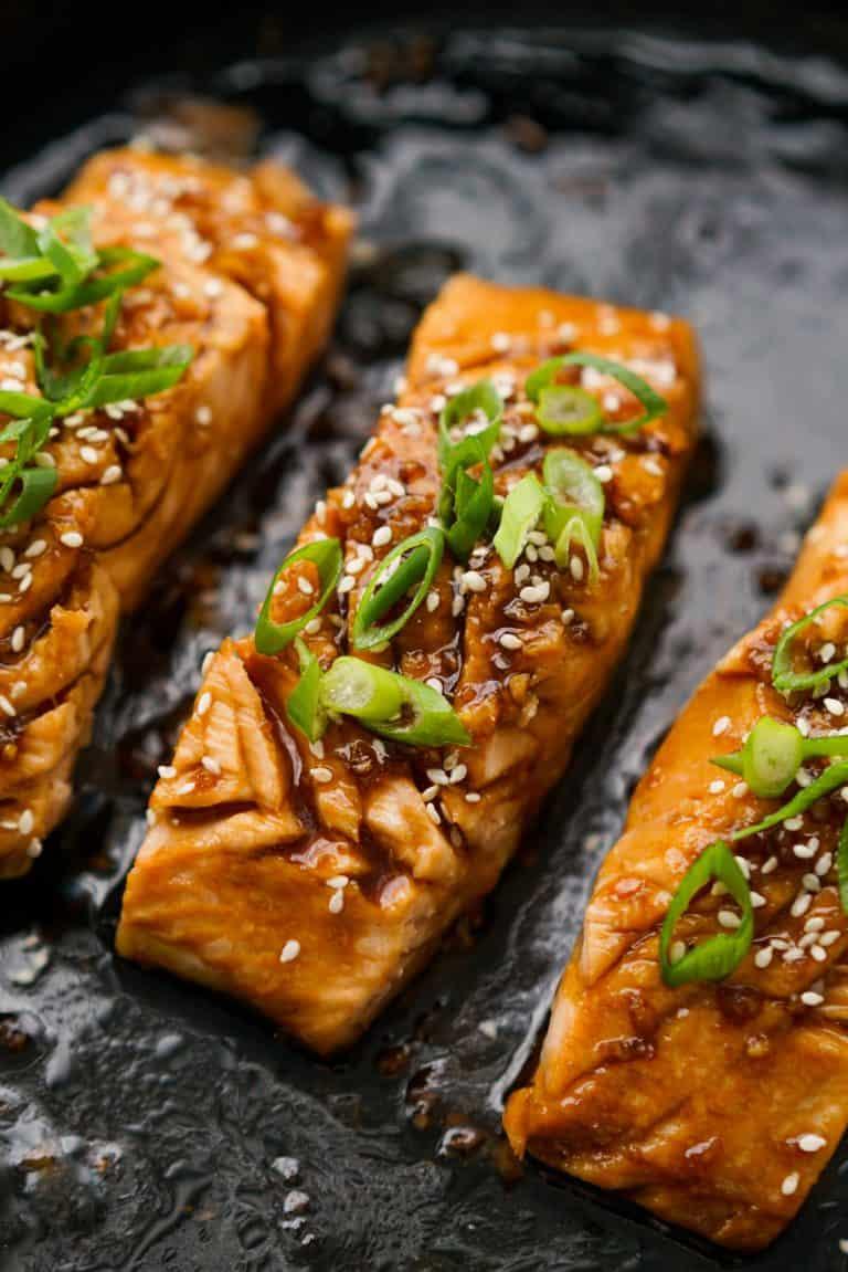 Teriyaki Glazed Salmon (Easy 20-minute Recipe!) - Joyous Apron