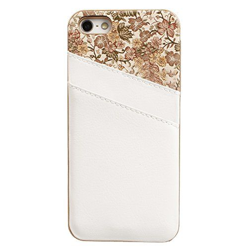 xhorizon TM Leather Pocket Back Hard Case Cover ZY with Card Holder Flower Luxury Case for iPhone 5 5S (White) xhorizon http://www.amazon.com/dp/B00NFG0KME/ref=cm_sw_r_pi_dp_L8ydwb0CGZ5P5