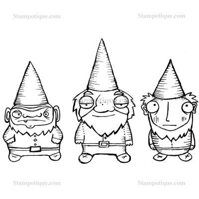 3 Dwarfy Gnomes Large Image
