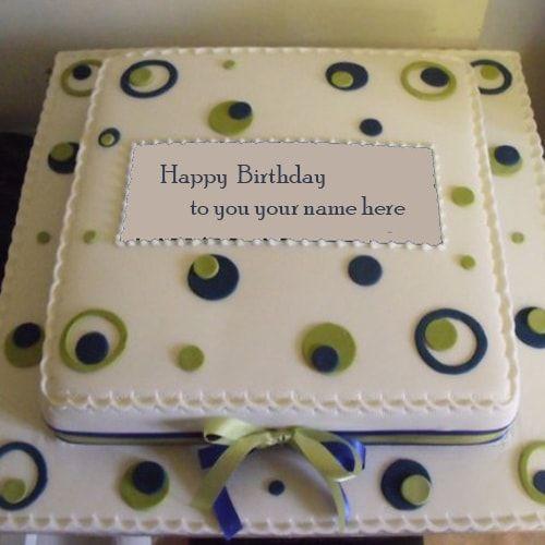 Wish You Happy Birthday Cake With Name Editor Happy Birthday