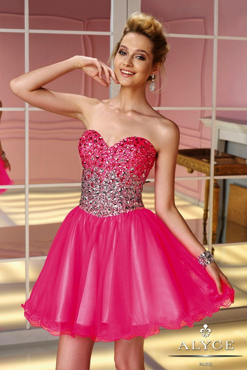 Prom DressesSweet 16 Dresses by ALYCE PARIS3588Dazzling Short ...