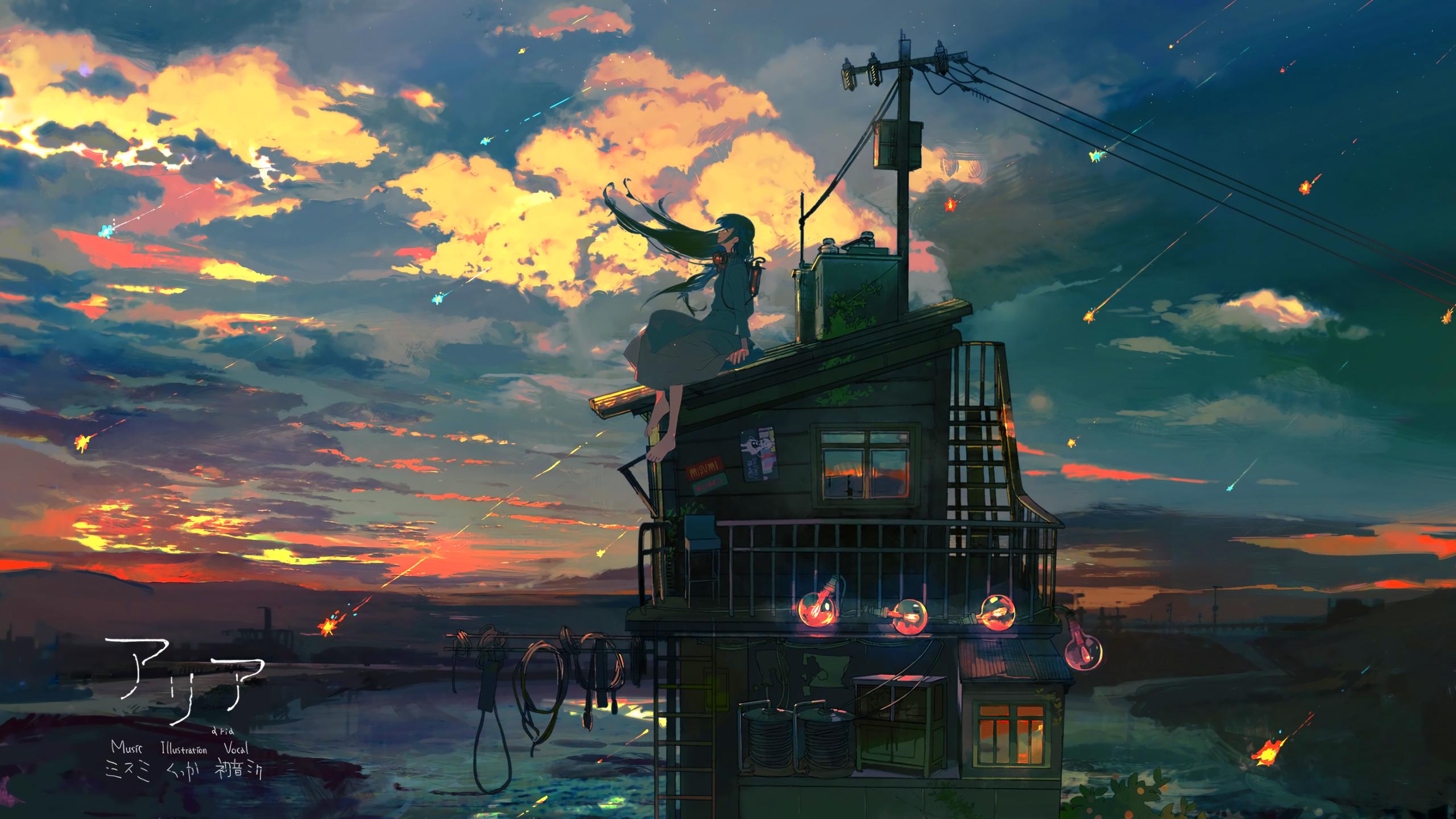 Anime Original Youtube Channel Cover Cover Abyss Phong Cảnh Phong Cảnh Trừu Tượng Anime